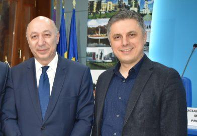 Ambasadorul Georgiei, în Neamț la invitația președintelui Mugur Cozmanciuc