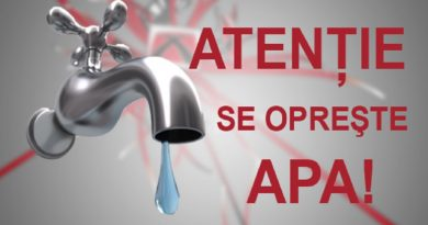 Se oprește apa în Piatra Neamț, Roznov, Bicaz, Târgu Neamț și în alte comune din județ