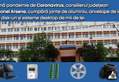 Ionel Arsene PSD – în plină pandemie achiziționează jante aliaj, anvelope iarnă, componente PC, Autoturism