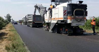 Lucrari de asfaltare DN2 DN28