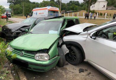 Accident rutier produs între mai multe autoturisme