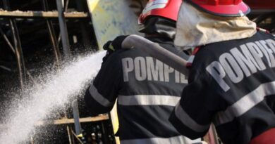Incendiu într-o localitate din comuna Petricani