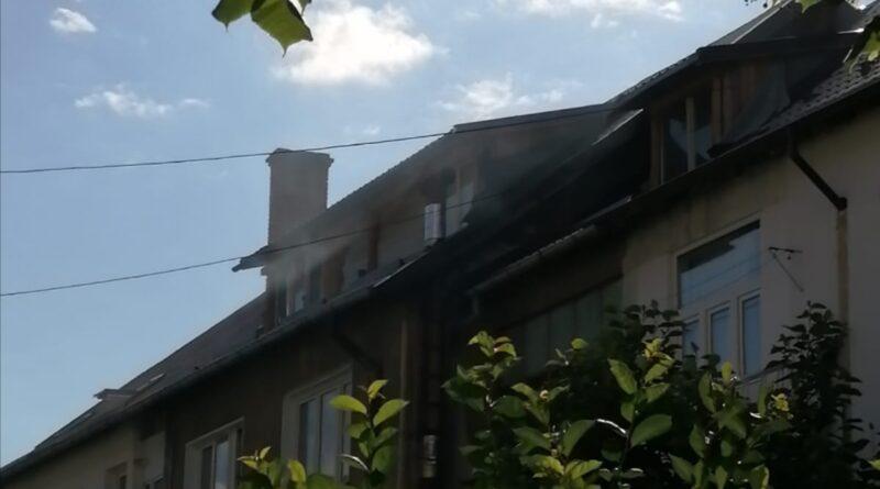 Incendiu produs într-un apartament din municipiul Piatra Neamț.