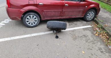 Accident rutier pe o stradă din Piatra Neamț