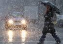 Avertizare meteo de ploi, lapoviţă şi ninsori