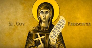 14 octombrie – Sfânta Cuvioasă Parascheva, ocrotitoarea Moldovei