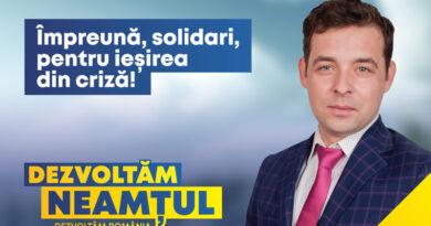 Ciprian Meriuță, candidat PNL Neamț: Vaccinarea, în contextul pandemiei generate de noul coronavirus, ar trebui să fie un gest de moralitate și solidaritate.