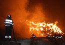 Incendiu la un depozit de cereale din comuna Zănești