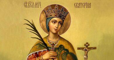 25 noiembrie – Sfânta Mare Muceniță Ecaterina