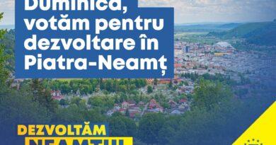Andrei Carabelea, primarul municipiului Piatra Neamț: Votul tău contează! Vino pe 6 decembrie la vot pentru a susține dezvoltarea municipiului Piatra Neamț