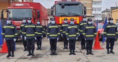 [FOTO] Avansări în grad la ISU Neamț cu ocazia Zilei Naționale a României