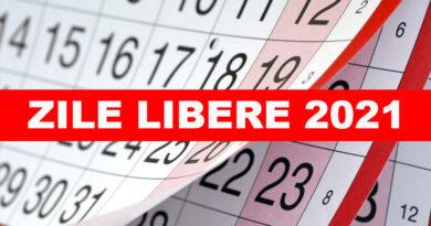 Zile libere 2021. Calendarul zilelor libere și a sărbătorilor legale