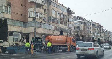 Avarie uriașă la rețeaua principală de apă potabilă din Piatra Neamț