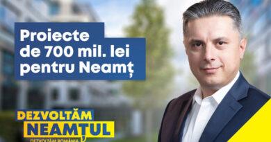 Mugur Cozmanciuc, președintele PNL Neamț: Guvernul continuă proiectele de investiții demarate prin PNDL