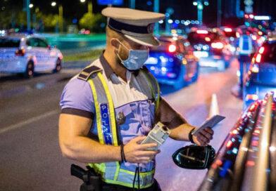 Accident provocat de un șofer beat și fără permis