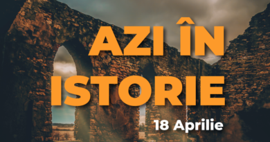 Azi în istorie – Evenimente 18 Aprilie