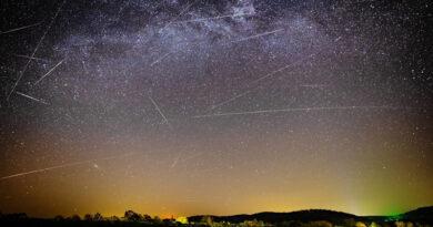 Spectacol cu Lyride pe cer începând din această noapte