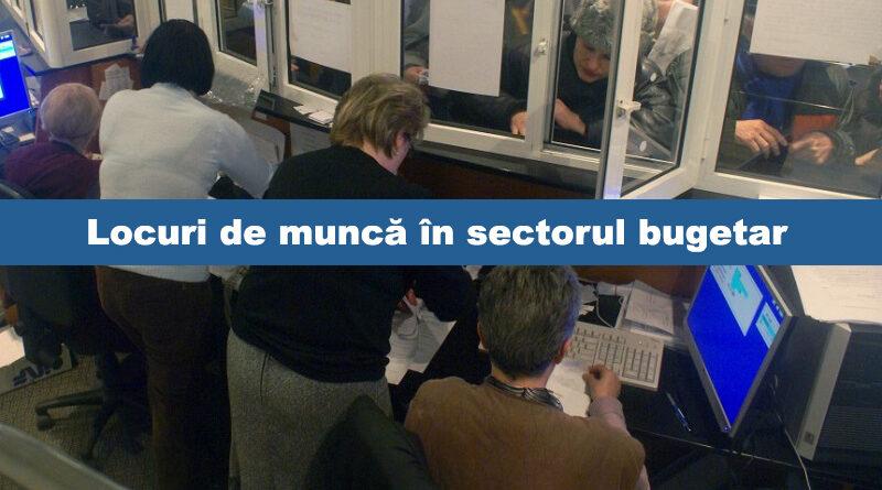 Neamț: Locuri de muncă în sectorul bugetar – 19 septembrie