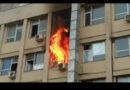 Acum! Video – Incendiu la spitalul Sf Maria din Iași