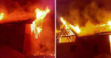 Incendiu provocat intenționat la o locuință din comuna Bodești