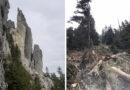 Atenționare Salvamont Neamț! Unul din turnurile Ocolașului Mic, s-a prăbușit