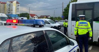 Controale la transportul public în comun. Doi șoferi au fost găsiți beți la volan
