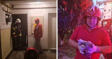 Fumatul în locuri nepermise a cauzat un incendiu la un apartament din Piatra Neamț