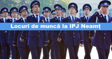 Vrei să fii polițist? IPJ Neamț angajează!