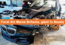 Autoturism de LUX furat din Marea Britanie, găsit în Neamț