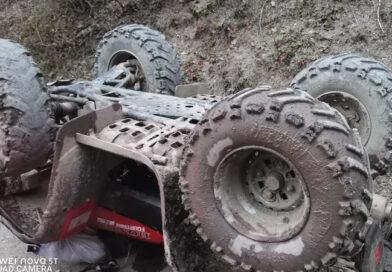 Accident groaznic. O persoană a murit strivită de un ATV